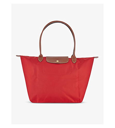 LONGCHAMP Le Pliage large shopper (Red