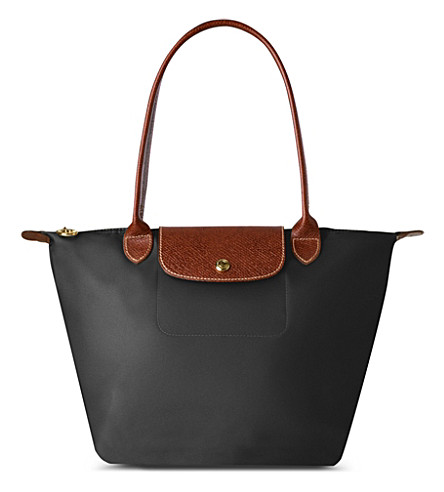 LONGCHAMP Le Pliage small shopper in black (Black
