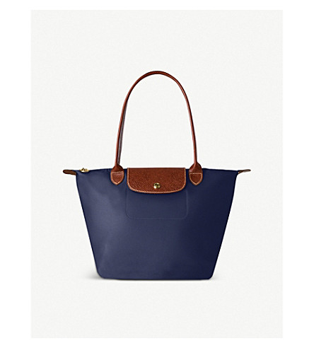 LONGCHAMP Le Pliage small shopper in navy (Navy