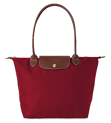 LONGCHAMP Le Pliage small tote bag (Red