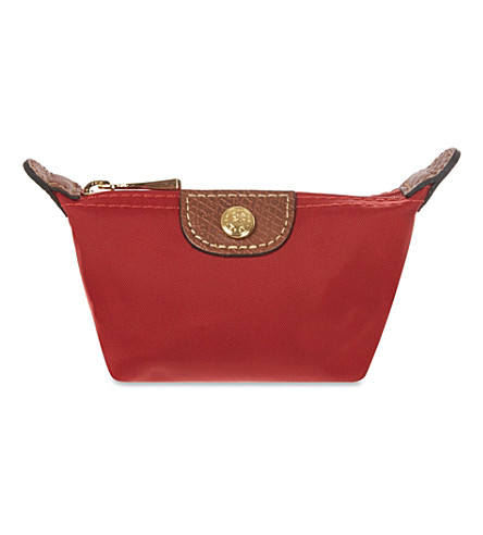 LONGCHAMP Le Pliage coin purse (Red