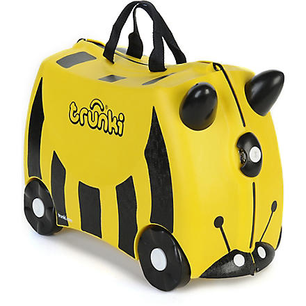 TRUNKI Bernard bee travel case (Yellow+bee