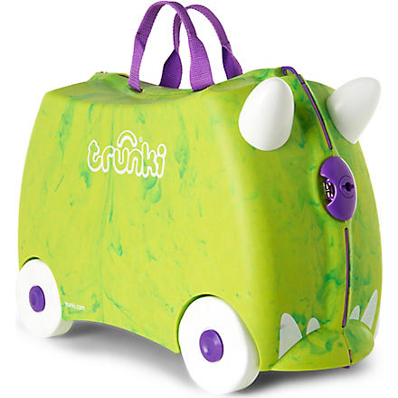 TRUNKI Trunkisaurus travel case (Green