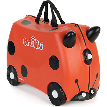 TRUNKI Harley ladybug travel case (Red