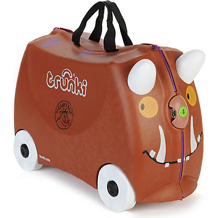 TRUNKI Gruffalo travel case (Brown