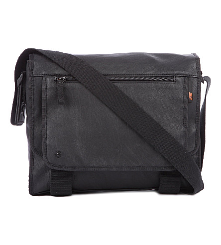 JOST Cult medium laptop messenger bag (Black