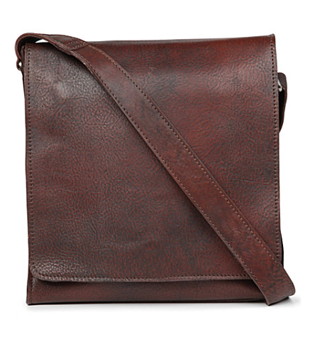 JOST Churchill small messenger bag (Brown