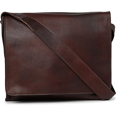 JOST Churchill medium messenger bag (Brown