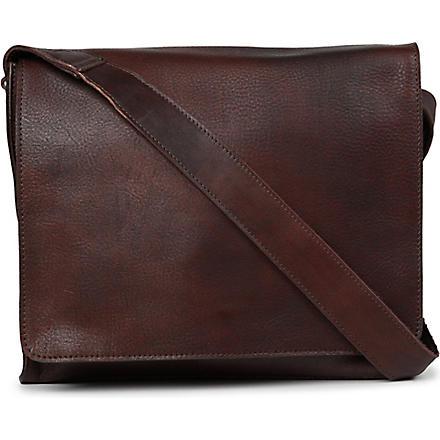 JOST Churchill medium messenger bag (Brown