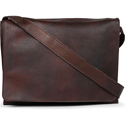 JOST Churchill large messenger bag (Brown