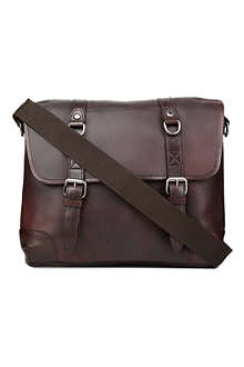 JOST Tacoma leather messenger bag