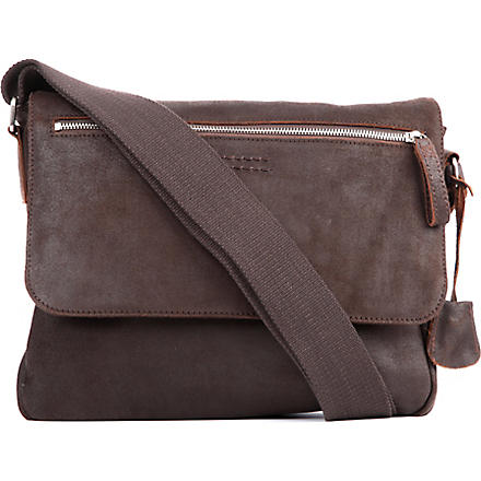 JOST Boston medium messenger bag (Brown