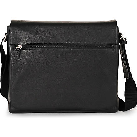 JOST Bonn medium messenger bag (Black
