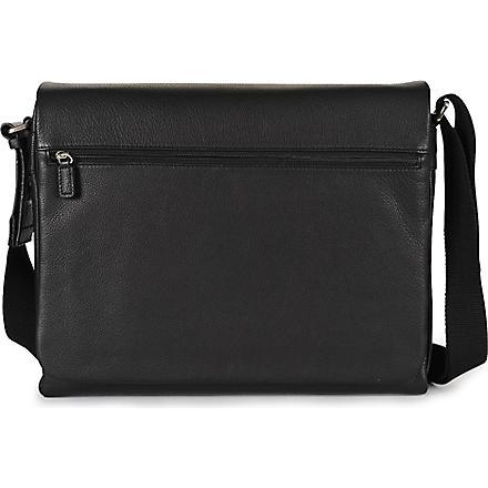 JOST Bonn large messenger bag (Black