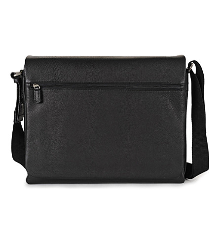 JOST Bonn large messenger bag (Black