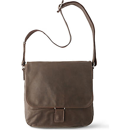 JOST Mono medium messenger bag (Brown