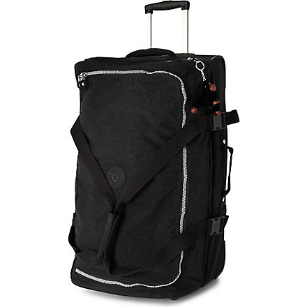 KIPLING Teagan medium two-wheel suitcase 67cm (Black-900 black