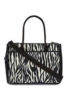 KIPLING Halia zebra print shoulder bag