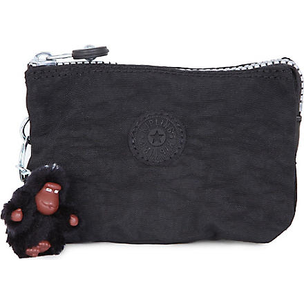 KIPLING Creativity small purse (Black