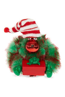 KIPLING Christmas monkey key ring