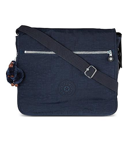 KIPLING Madhouse expandable messenger bag (True+blue