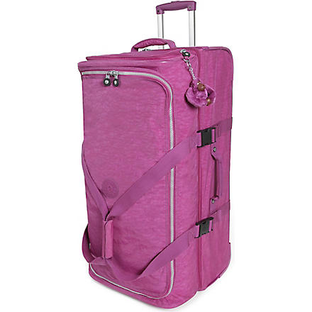 KIPLING Teagan medium two-wheel suitcase 67cm (Grape
