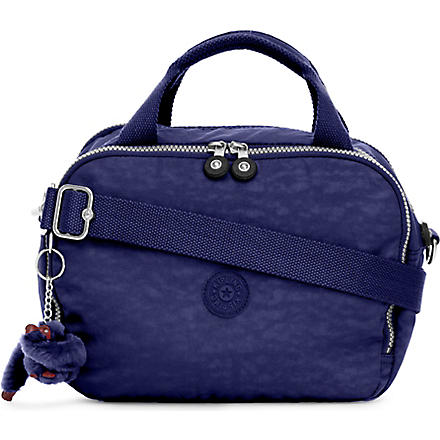 KIPLING Palm Beach cosmetic bag (Flash+blue+trim