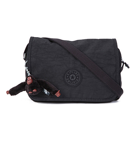 KIPLING Delphin messenger bag (Black
