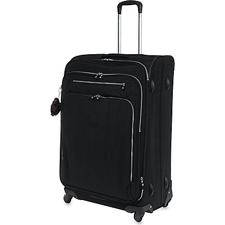 KIPLING Youri four-wheel spinner suitcase 78cm (Black