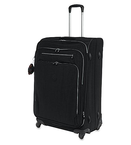 KIPLING Youri four-wheel spinner suitcase 78cm (Black