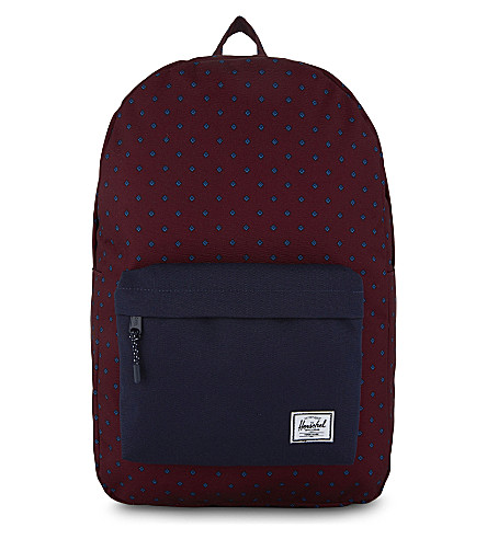 HERSCHEL SUPPLY CO Classic backpack (Uni+windsor+wine/peacoat