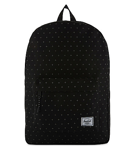 HERSCHEL SUPPLY CO Classic backpack (Black+gridlock