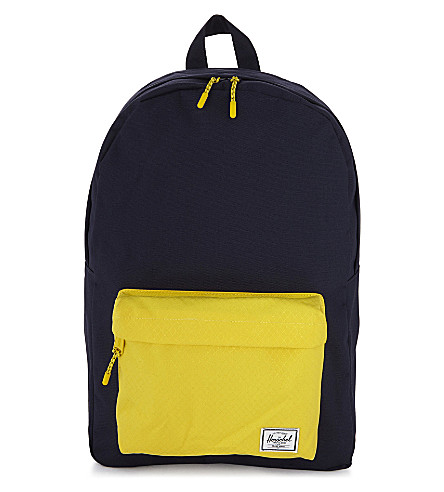 HERSCHEL SUPPLY CO Classic backpack (Peacoat/cyber+yellow