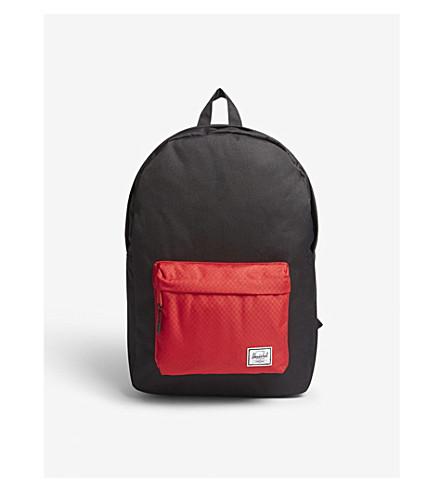 HERSCHEL SUPPLY CO Classic backpack (Black/scarlet