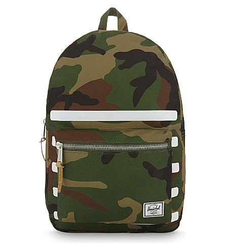 HERSCHEL SUPPLY CO Offset Settlement backpack (Woodland+camo+stripe