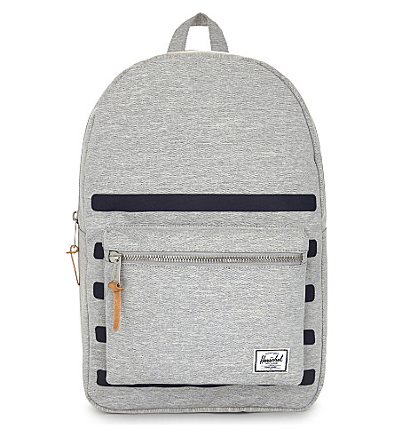 HERSCHEL SUPPLY CO Offset Settlement backpack (Light+grey+crosstripe