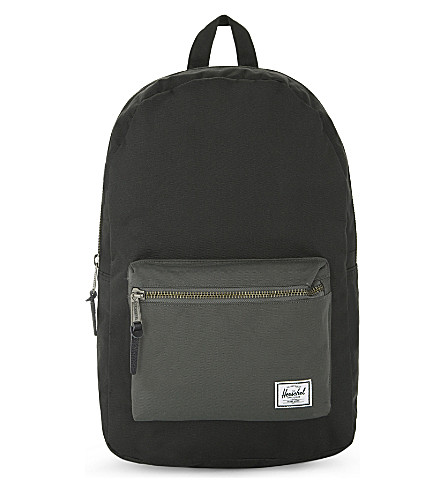 HERSCHEL SUPPLY CO Settlement backpack 17.7cm (Black/charcoal