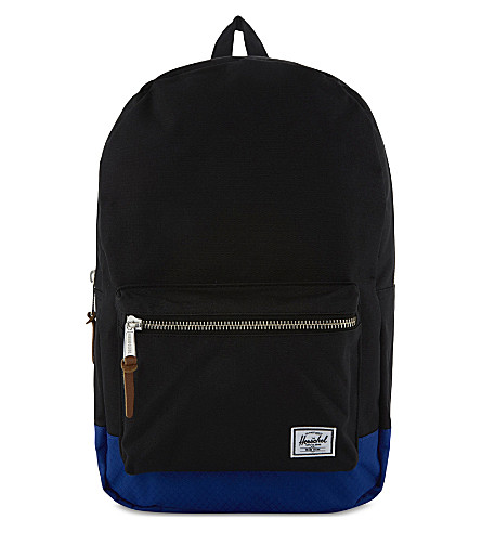 HERSCHEL SUPPLY CO Settlement backpack (Black/surf+the+web