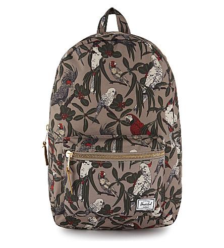 HERSCHEL SUPPLY CO Settlement bird backpack (Brindle+parlour