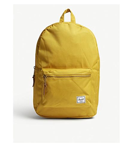 HERSCHEL SUPPLY CO Settlement tonal canvas backpack (Arrowwood