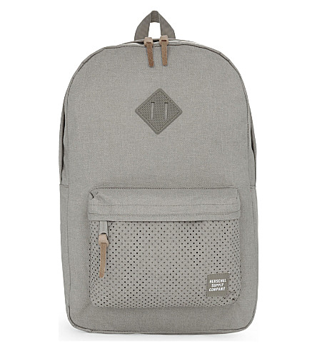 HERSCHEL SUPPLY CO Aspect Heritage backpack (Dark+khaki/+crosshatch