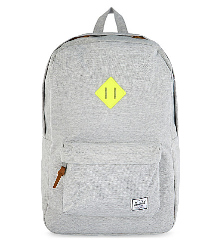 HERSCHEL SUPPLY CO Heritage backpack (Light+grey+crosshatch
