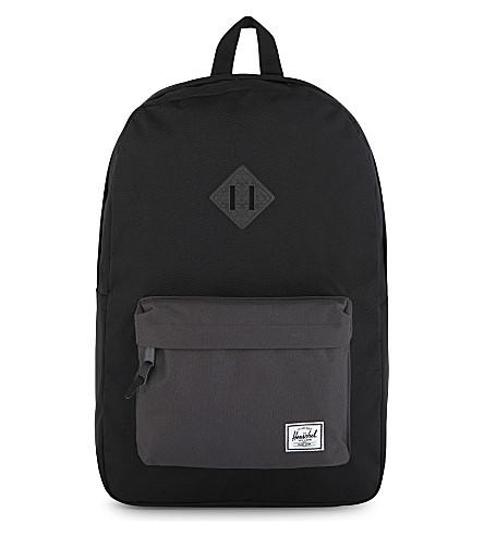 HERSCHEL SUPPLY CO Heritage backpack (Black/charcoal