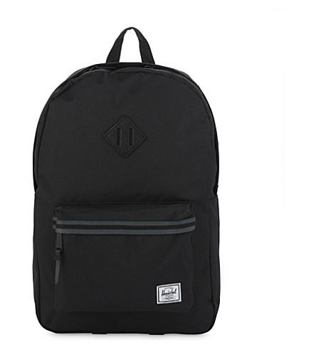 HERSCHEL SUPPLY CO Heritage backpack (Blk/drk+shdw/blk+tan