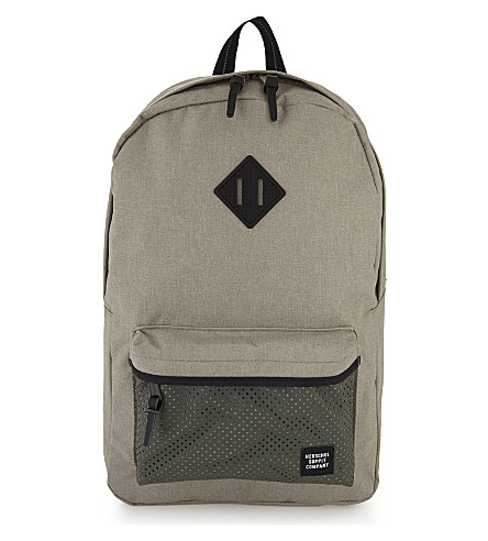 HERSCHEL SUPPLY CO Aspect Heritage backpack (Lgt+khaki+crss/frst/blk