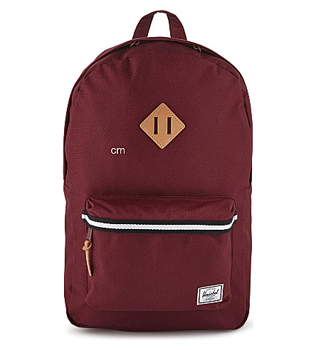 HERSCHEL SUPPLY CO Heritage backpack (Windsor+wine/veggie+tan
