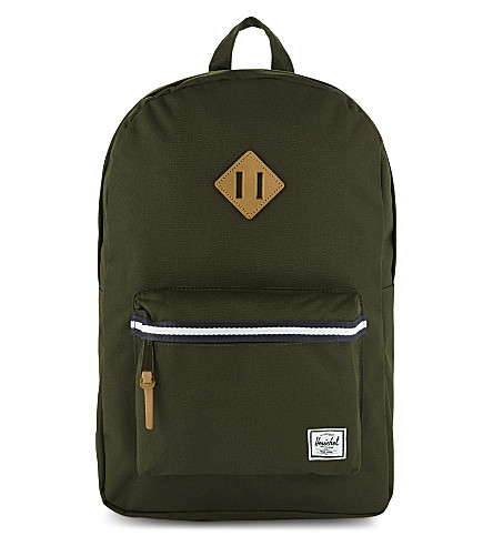 HERSCHEL SUPPLY CO Heritage backpack (Frst+green/veggie+tan