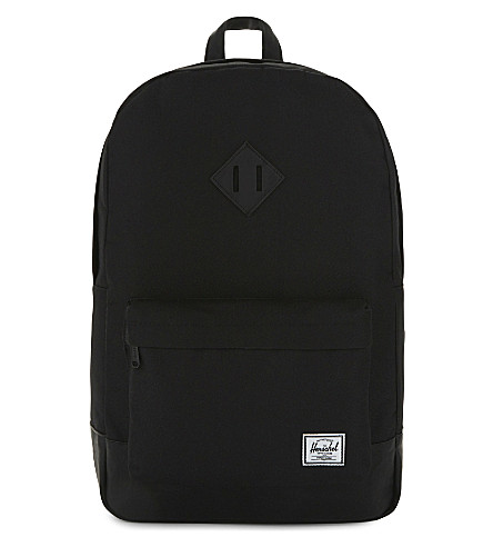 HERSCHEL SUPPLY CO Heritage backpack (Black/black