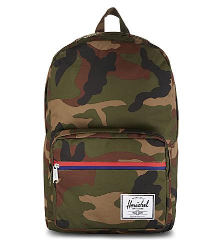 HERSCHEL SUPPLY CO Pop Quiz backpack (Woodland+camo/multi+zip