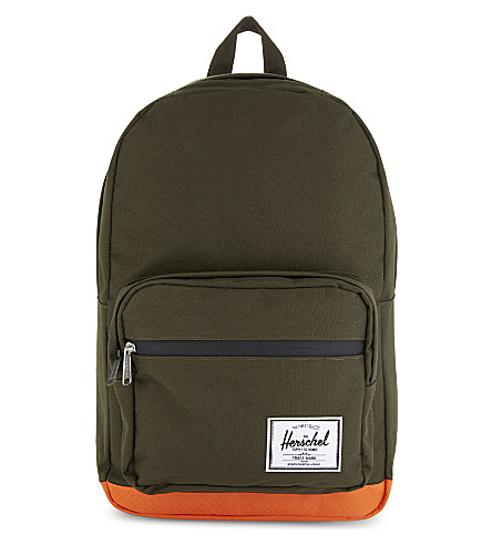 HERSCHEL SUPPLY CO Pop Quiz backpack (Frst+nght/vrmilln+orng